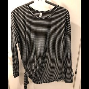 Lululemon to the point long sleeve size 10